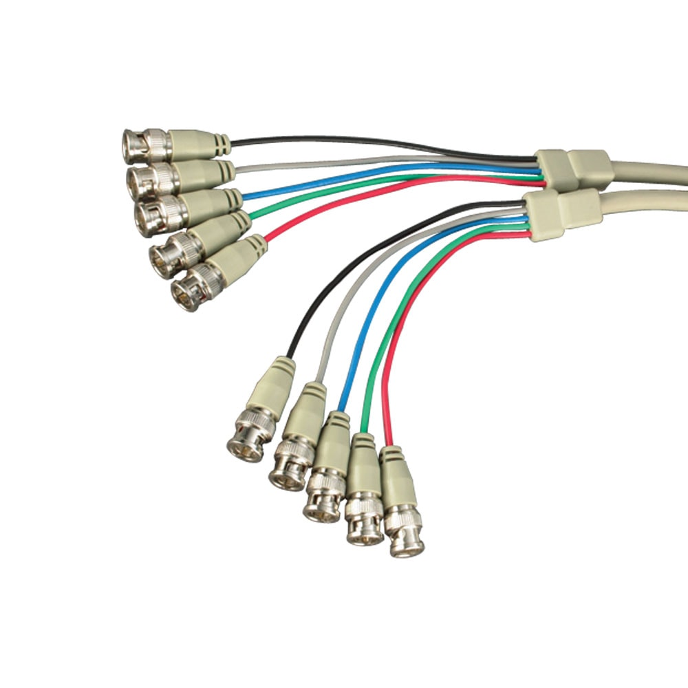 Multi BNC Monitor Cables | TV Coax, BNC & 13W3 Sun Monitor Cables ...