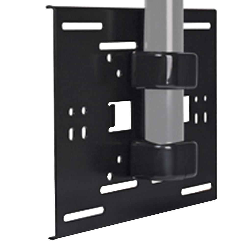 BTE0107, Image, B TECH BT8026/B System 2 Flat Screen Pole Mount (50mm Dia)  Black ...