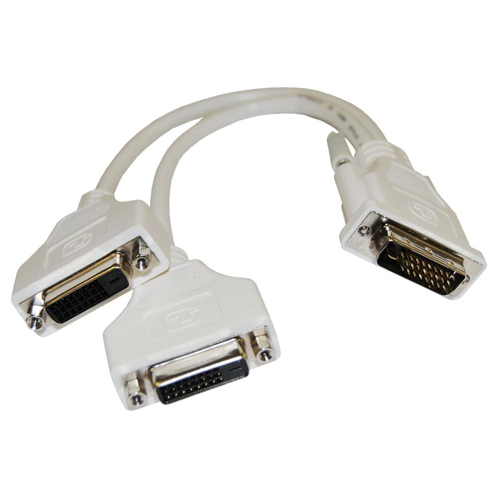 Computer Monitor Cord Splitter : Dvi monitor splitter cables svga