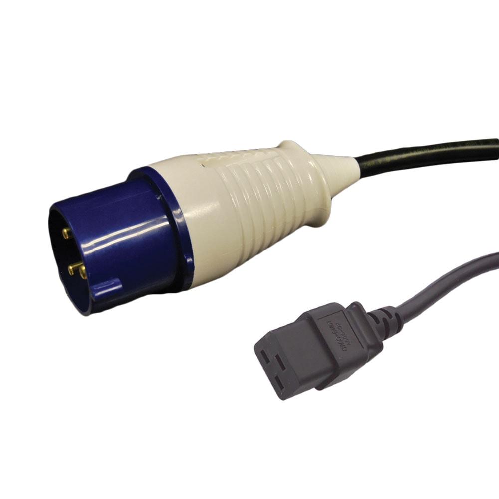 16 amp commando to c19 power cable commando power cables mains power cables mains power. Black Bedroom Furniture Sets. Home Design Ideas