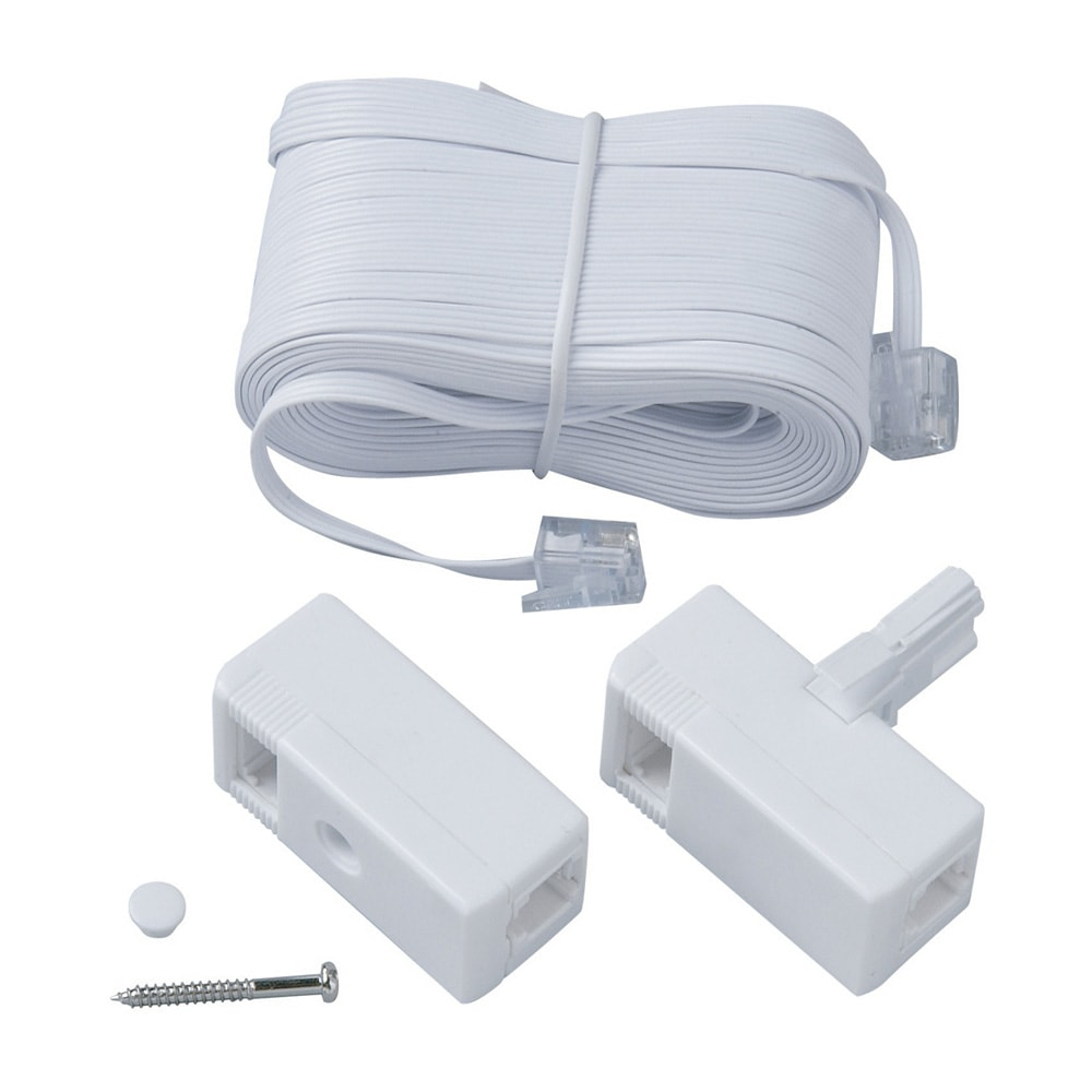 telephone extension kit telephone adapters extensions. Black Bedroom Furniture Sets. Home Design Ideas